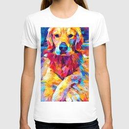 Golden Retriever 6 T-shirt