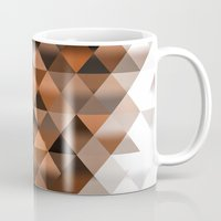 triangle Mugs featuring Triangle by Susann Mielke