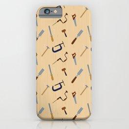 Wood shop iPhone Case