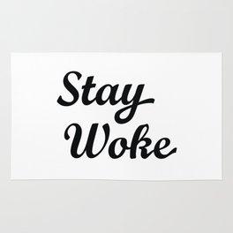 Stay Woke Rug