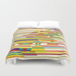 Harmony and Cacophony Duvet Cover