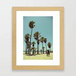 Sunny Date Framed Art Print