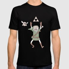 Link Adventure LARGE Mens Fitted Tee Black