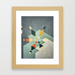 Shape_02 Framed Art Print