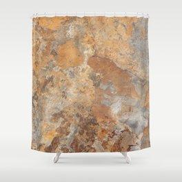 Granite and Quartz texture Shower Curtain