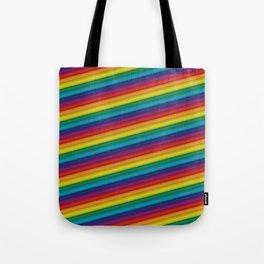 HD Rainbow Tote Bag