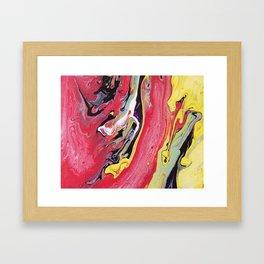banana acid Framed Art Print