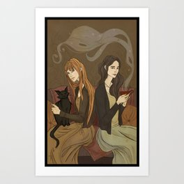 The Owens Sisters Art Print