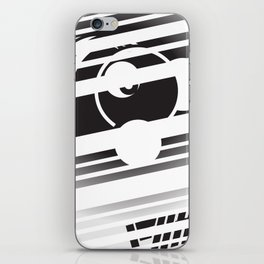 masked iPhone Skin