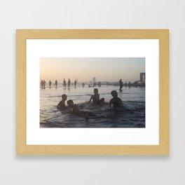 Clifton Beach, Karachi Framed Art Print