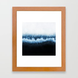Forest of frost Framed Art Print