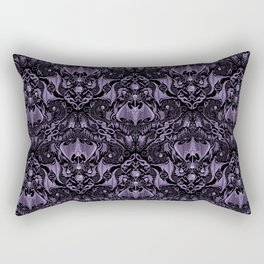 Bats and Beasts - ROYAL PURPLE Rectangular Pillow