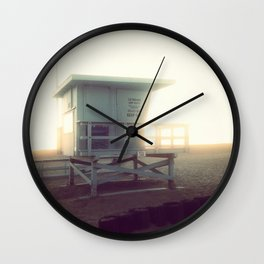 Life Guard Tower Wall Clock