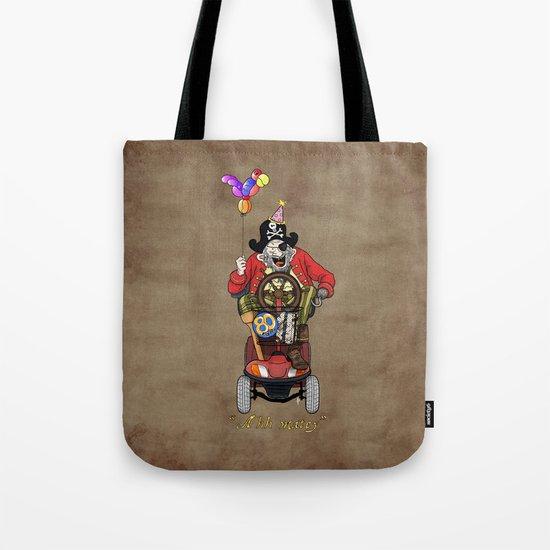 Ahh matey!  Tote Bag
