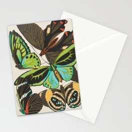 Butterfly and Moth Print by E.A. Seguy, 1920s #19 Stationery Cards