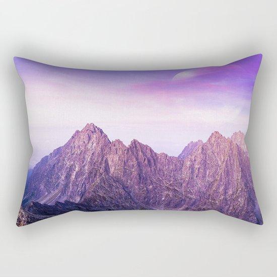 Purple Range Rectangular Pillow