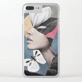 Portrait/Collage Art Clear iPhone Case