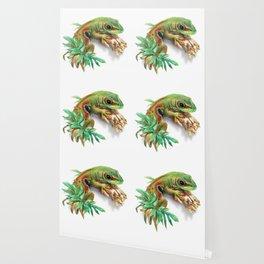 Green Gecko Wallpaper