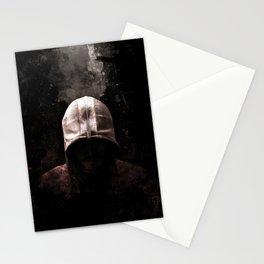 Modern Assassin Hood - Color Stationery Cards