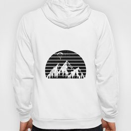 Paragliding Mountains   Air Sports Paraglider Gift Hoody
