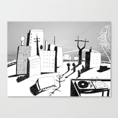 suburb Canvas Print