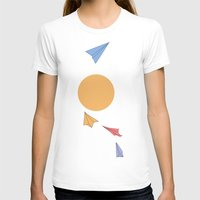 planes T-shirts featuring Paper Planes by sandrine