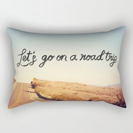 Let's Go on a Road Trip Rectangular Pillow