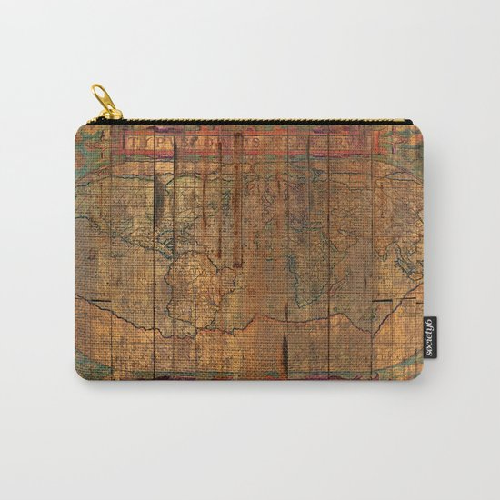 Distressed Old Map by maximilian
