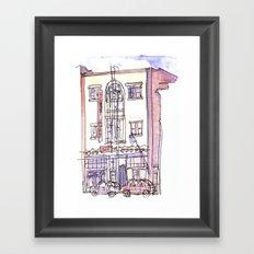 Chop Suey Cafe Framed Art Print