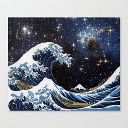 Hokusai & LH95 Canvas Print