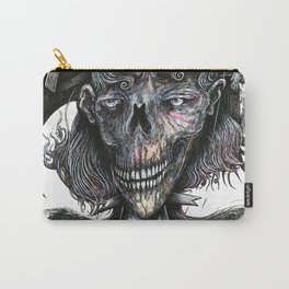 Feminine Skull Carry-All Pouch