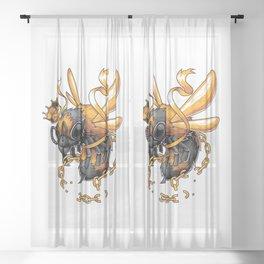 King Bee Sheer Curtain