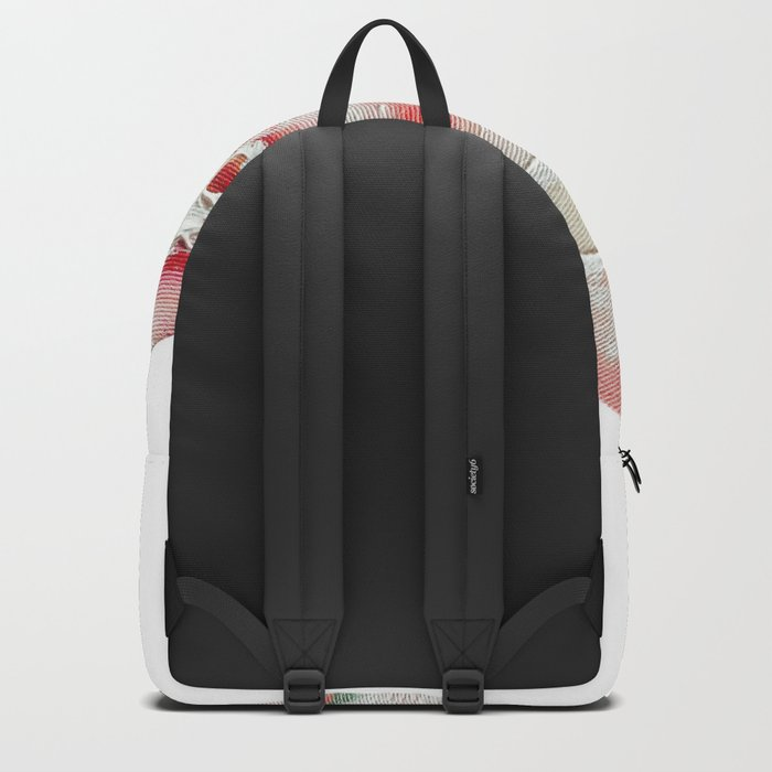 Peach Plums Backpack