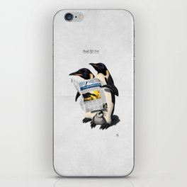 Read All Over iPhone Skin