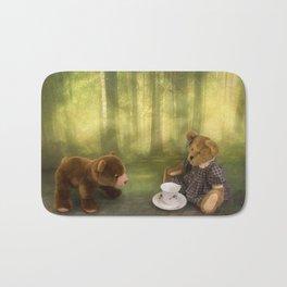 Teddy Bear Tea Party Bath Mat