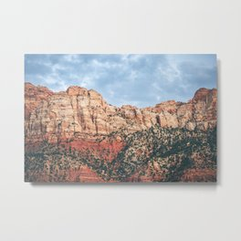 Virgin Red Rock Metal Print