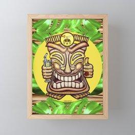 Shriner Happy Tiki #1 Framed Mini Art Print