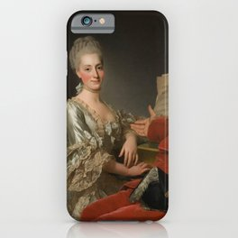 Alexander Roslin - John Jennings Esq., his Brother and Sister-in-Law (1769) iPhone Case