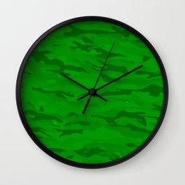 camuflaje 10 Wall Clock