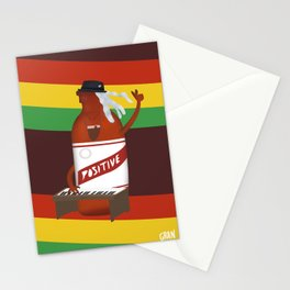 rasta & cheers Stationery Cards