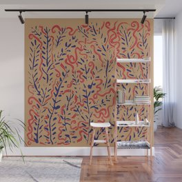 Indian Snakes Wall Mural