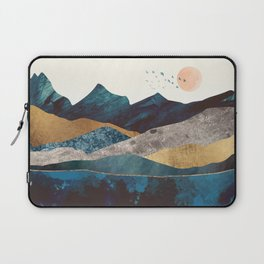 Blue Mountain Reflection Laptop Sleeve