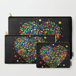 Love made of colorful dots Carry-All Pouch