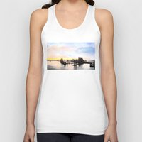 industrial Tank Tops featuring industrial III. by zenitt