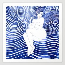 Water Nymph XLII Art Print