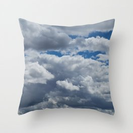 Overcast Throw Pillow