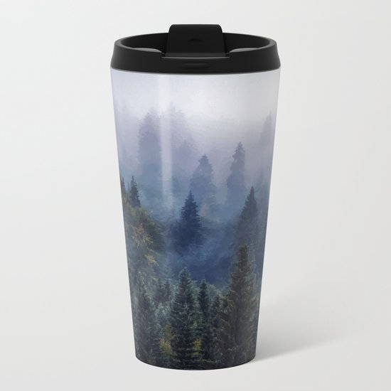 The Visionary Echo #society6 Metal Travel Mug