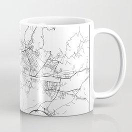 Minimal City Maps - Map Of Florence, Italy. Coffee Mug