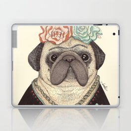 Frida Pug Kahlo Laptop & iPad Skin