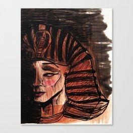 Forgotten Pharaoh Canvas Print